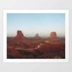 Monument Valley Art Print