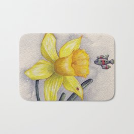 Future Botanical Studies - Daffodil Bath Mat