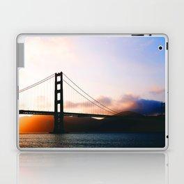 Golden Gate Bridge Sunrise, San Francisco Bay Laptop & iPad Skin