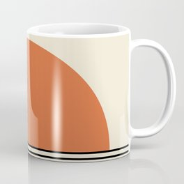 Sunrise / Sunset - Orange & Black Coffee Mug