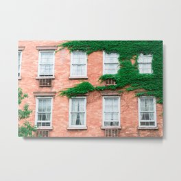 West Village Summer Metal Print