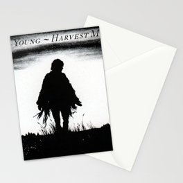 neil young harvest moon tour 2020 ngapril Stationery Cards