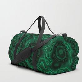 Earth treasures - patterns of malachite Duffle Bag