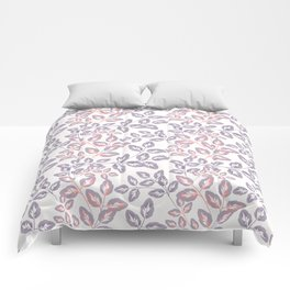 Delicate sprigs. Comforters