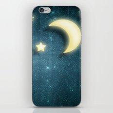 Moon & Stars 01 iPhone & iPod Skin