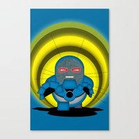 returns Canvas Prints featuring Chubbyseid Returns  by AWOwens