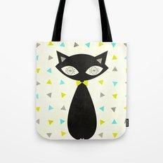 Mid Century Cat  Tote Bag
