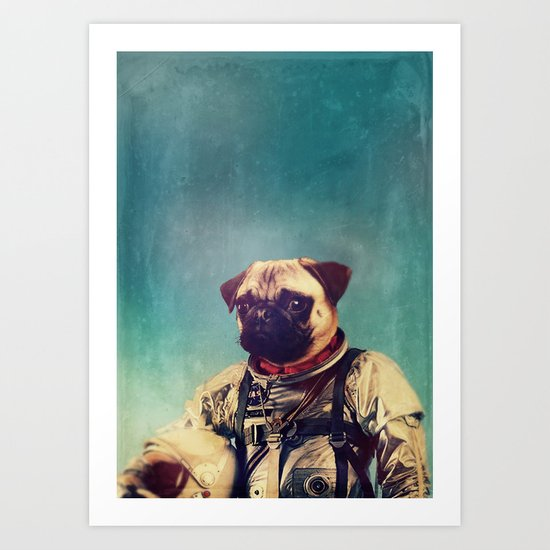 A Point To Prove Art Print