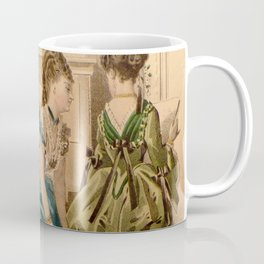 Two Bustles, a Piano, and a Cat Coffee Mug
