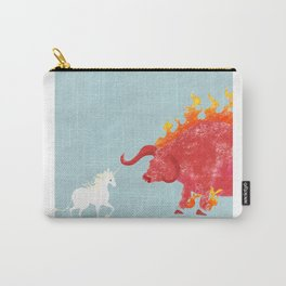 Last Unicorn Movie Poster Carry-All Pouch