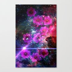 FLOWER IN  THE UNIVERSE II Canvas Print
