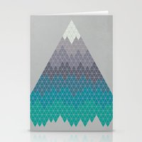 geology Stationery Cards featuring Many Mountains by Rick Crane