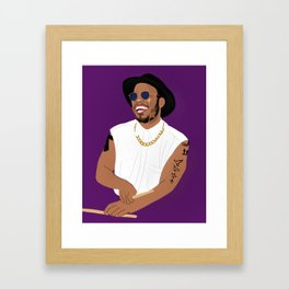 Paak Framed Art Print