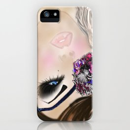 GCD Beautilicious Buccaneer Airbrushed Illustration iPhone Case