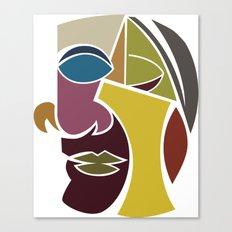 The Face Canvas Print