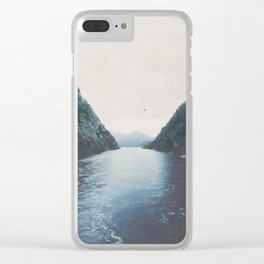 silence II Clear iPhone Case