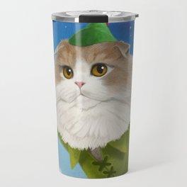 Peter Pan Cat Travel Mug