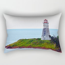 Lighthouse Cape Jourimain N-B Rectangular Pillow