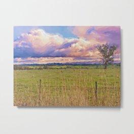 Landscape Redesdale, Victoria Metal Print