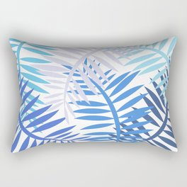 Blue Jewels Rectangular Pillow