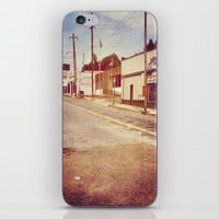 memphis iPhone & iPod Skins featuring Memphis Street by wendygray
