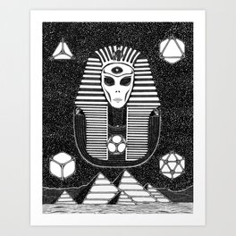 Thoth the Atlantean Art Print