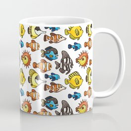 Tropical Fish Pattern Coffee Mug