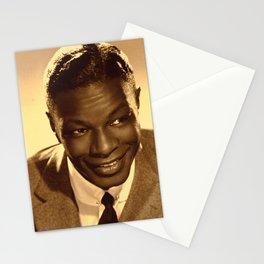 Nat King Cole  - Black Culture - Black History Stationery Cards