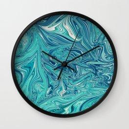 Persian Green Marble Wall Clock