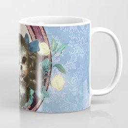 Kitschy Blue Puppy Coffee Mug