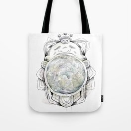 Child from the Bellybutton of the Moon Tote Bag
