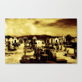 Italian Graveyard (O171015ig) Canvas Print