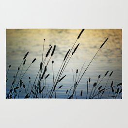 Reeds by the Water Rug