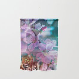 Double Flowers Wall Hanging