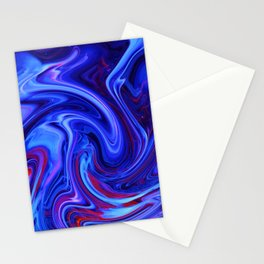 Raging Blue Waters Stationery Cards