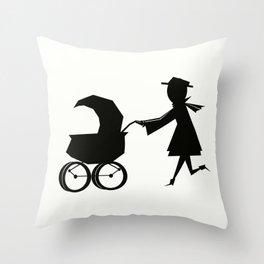 Stroller  Throw Pillow