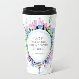 Rory Gilmore Bookish World Travel Mug
