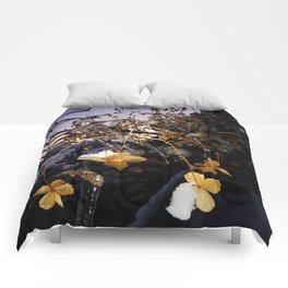 Frozen Flowers Comforters