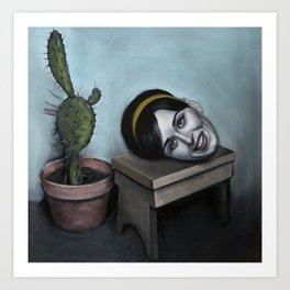 Still Life with a Cactus Art Print