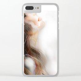 Light Atom Clear iPhone Case