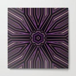 Pretty in Purple (2 of 3) Metal Print