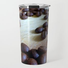 Scattered Coffee Beans Travel Mug