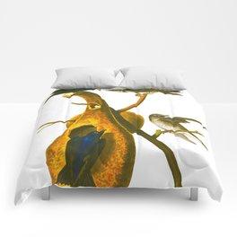 Purple Martin Bird Comforters