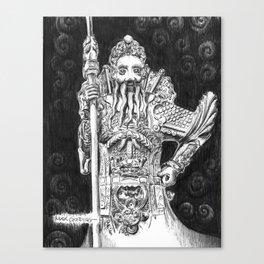 Wat Pho Guardian Canvas Print