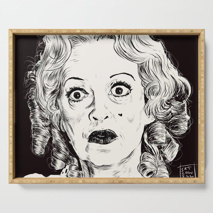 Bette Davis/Baby Jane Serving Tray