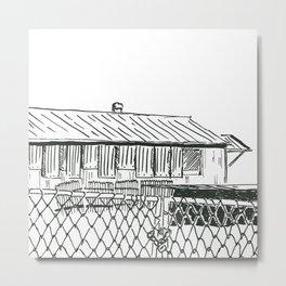 Kwa-Zulu Natal Factory  Closed Metal Print