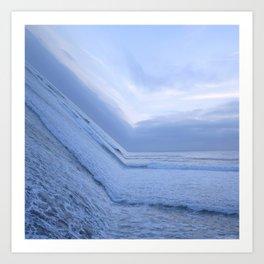 Surf's Up Sunset Point Art Print