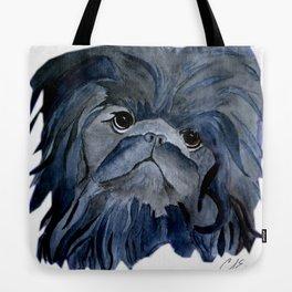 Pekingese Dog love... Tote Bag