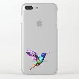 Little humming bird Clear iPhone Case