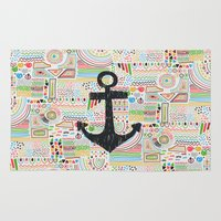 anchor Area & Throw Rugs featuring Anchor by Berreca